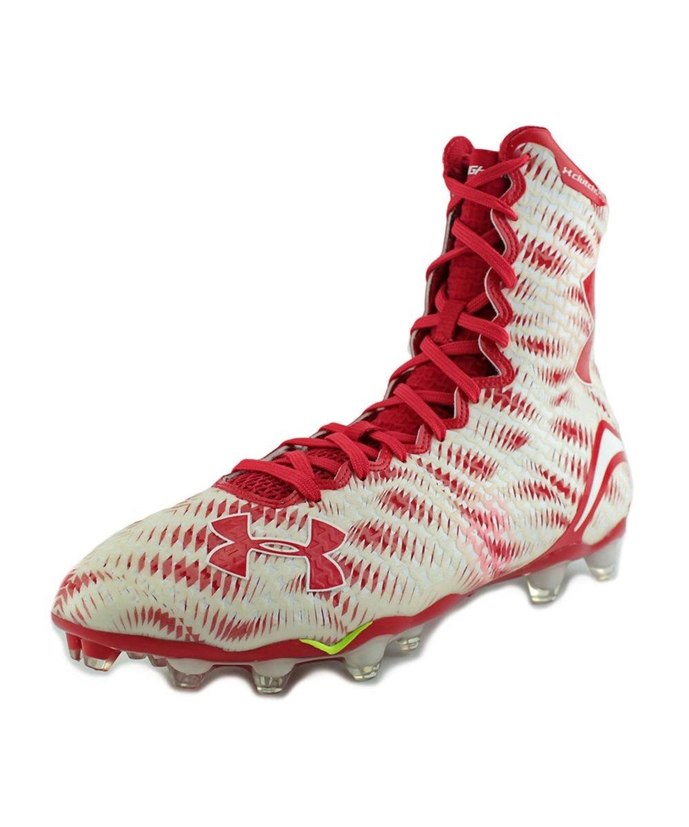 c62163be3326 UNDER ARMOUR Under Armour Team Highlight D W Men Round Toe Synthetic White  Cleats. #underarmour #shoes #