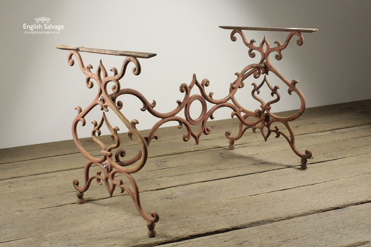 Reclaimed Cast Iron Ornate Table Bases