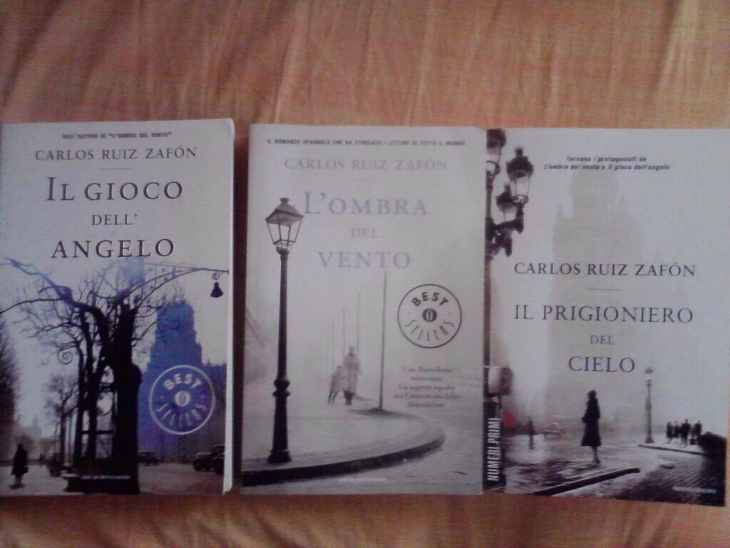 Il cimitero dei libri dimenticati Carlos Ruiz Zafón