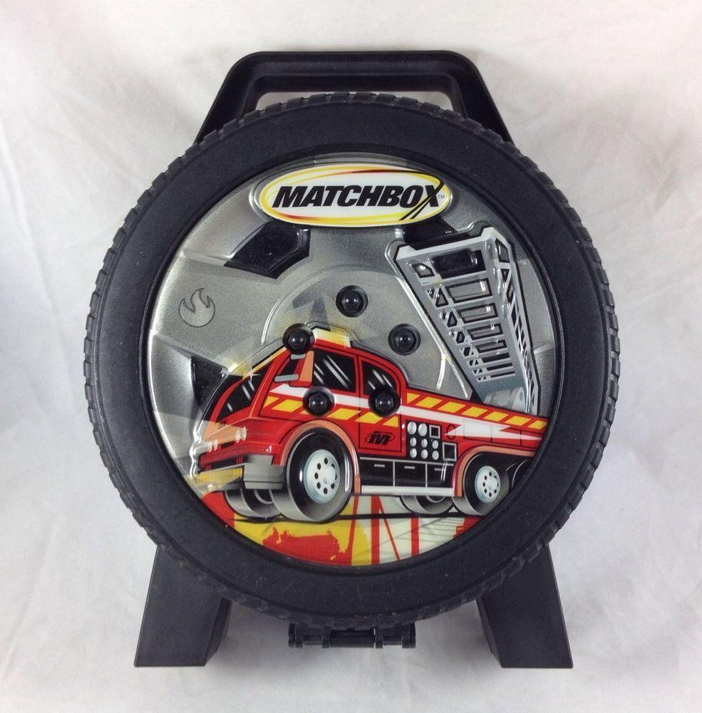 Matchbox Car Tire Carrying Case Storage Container Tara Mattel Hot