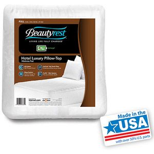 Beautyrest Hotel Luxury Pillow Top Mattress Pad