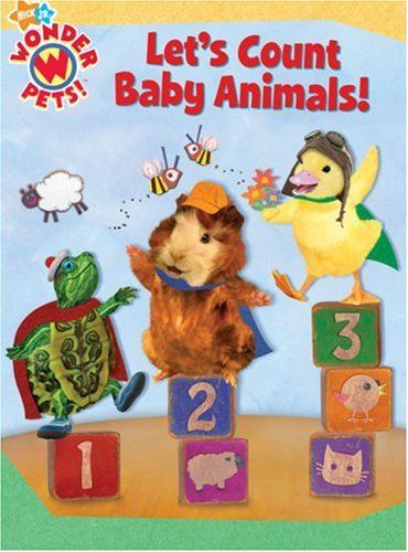 Let S Count Baby Animals Wonder Pets Animal Books Wonder Pets Cute Baby Animals