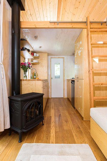 Kleine Häuser, Bauwagen, Haus, Kleines Häuschen, Reise, Kleines Haus  Küchen, Wohnen Im Mikrohaus, Gaskamin, Kamine