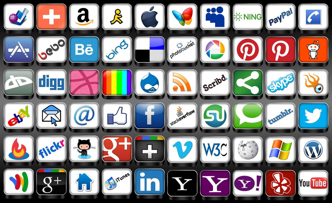 icon for the arts 3D Social Media Icon Pack Free Icons