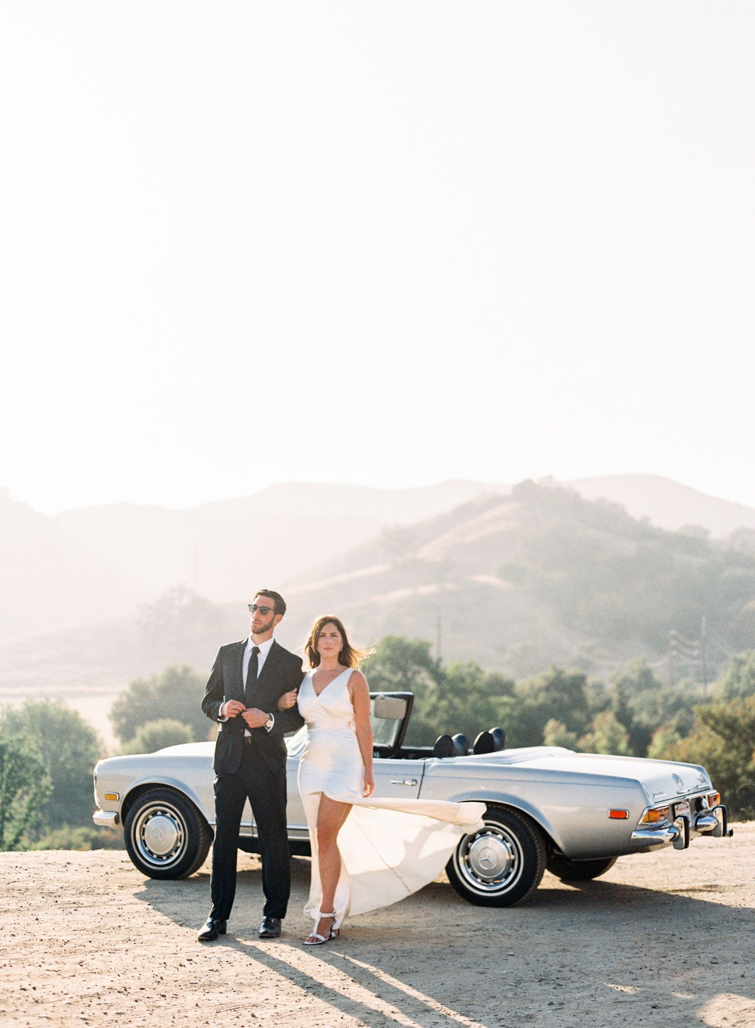 A Classic Summer Engagement Shoot in Southern California