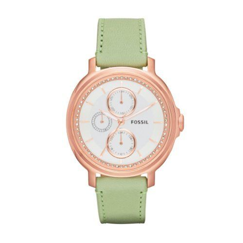 FOSSIL Chelsey Multifunction Leather Watch - Sage, http://www.amazon.com/dp/B00E1GX042/ref=cm_sw_r_pi_awd_.8zusb0N5YV1M