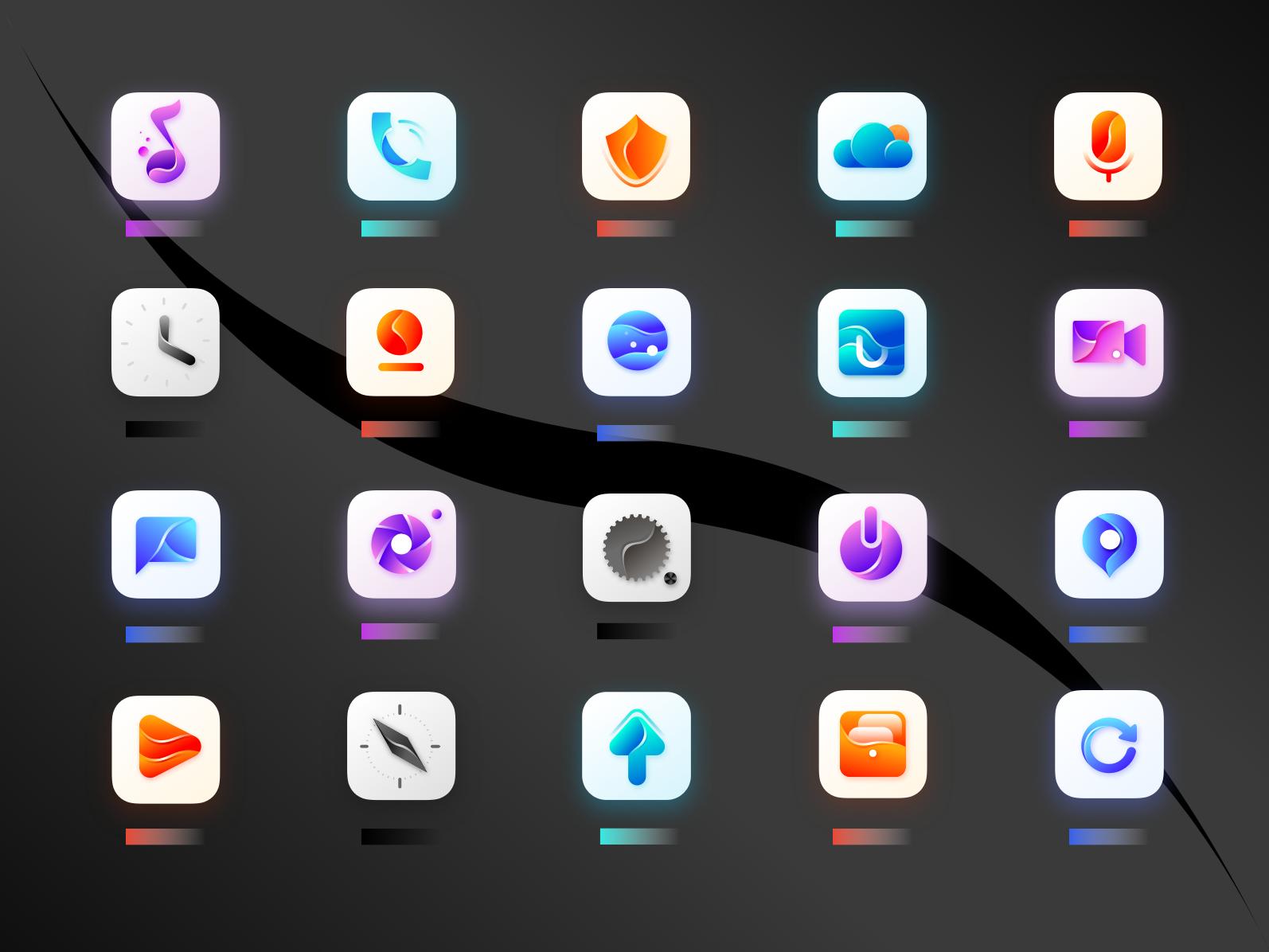 Supplementary optimization yesterday's icon by chendafa
