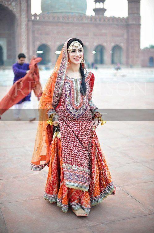 Pakistani Bridal Lehenga Dresses Designs Styles 2018-2019 Collection