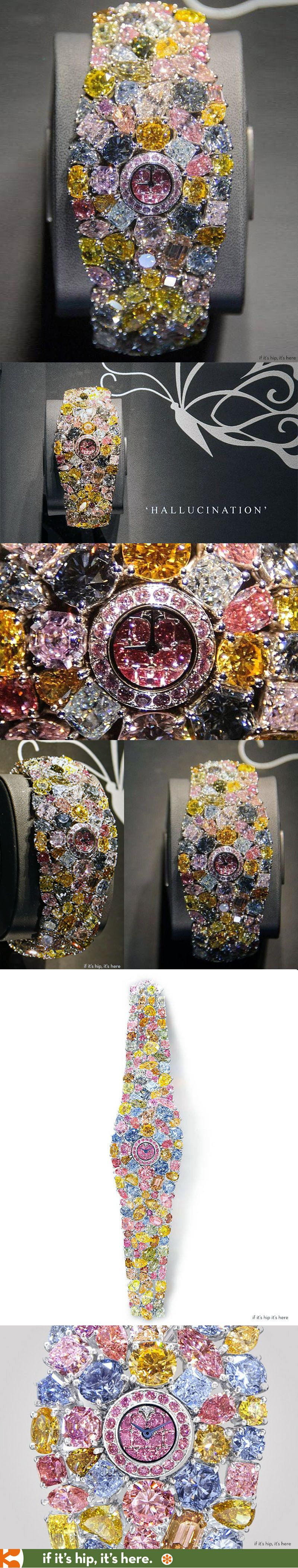 The world's most expensive watch The Graff Hallucination