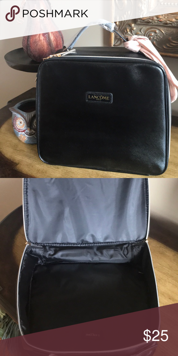 aa525b33949c Lancôme Makeup Case Brand new black Lancôme Makeup Case Lancome Bags ...