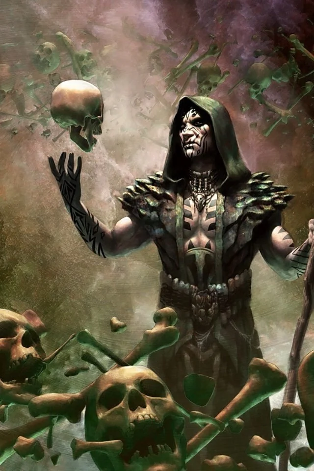 Deathrite Shaman iPhone/Android wallpaper magicTCG in