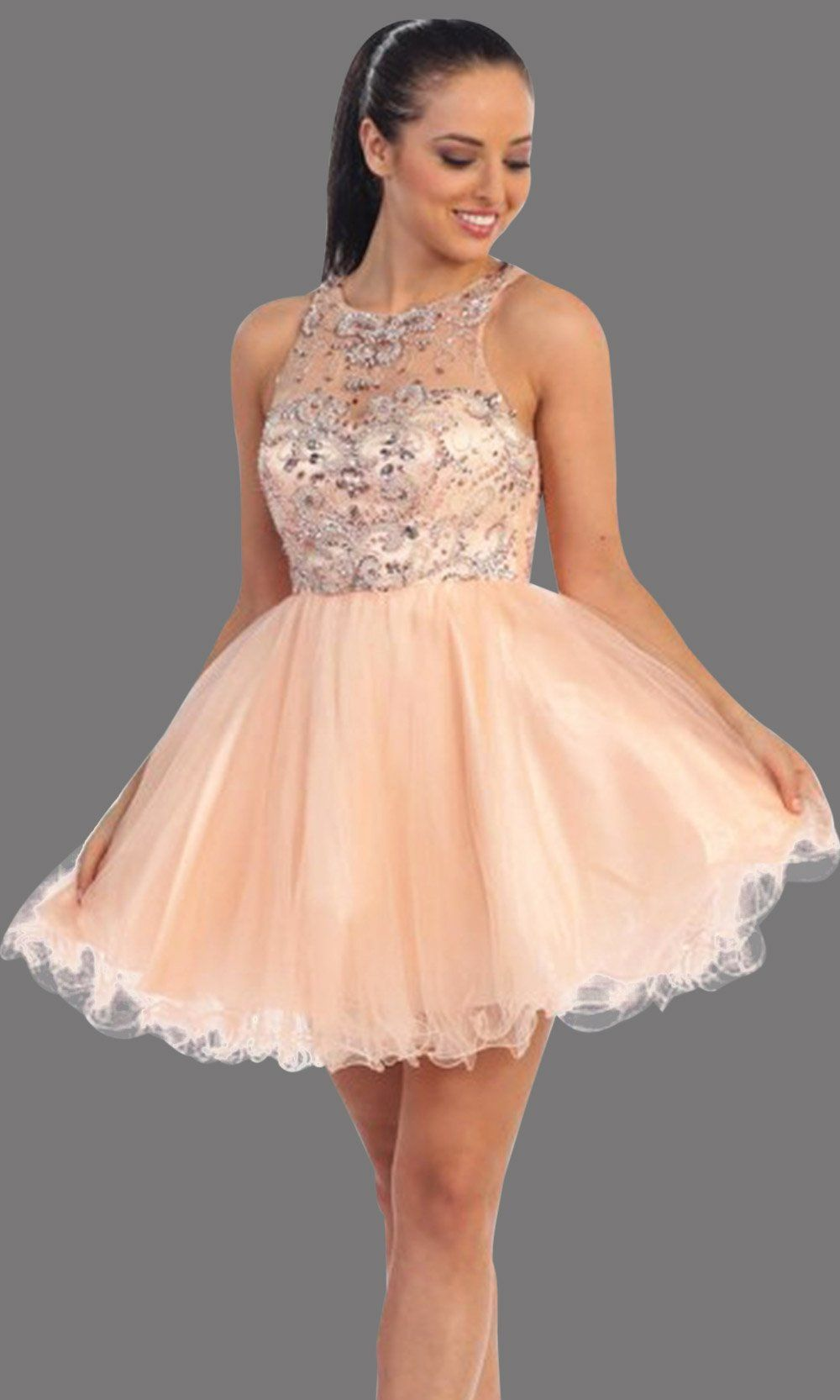 It S Your Day Boutique Wedding Dress Shop In Ontario Wedding Dresses Bridesmaids And More Peach Prom Dresses Dresses Grad Dresses [ 1666 x 1000 Pixel ]