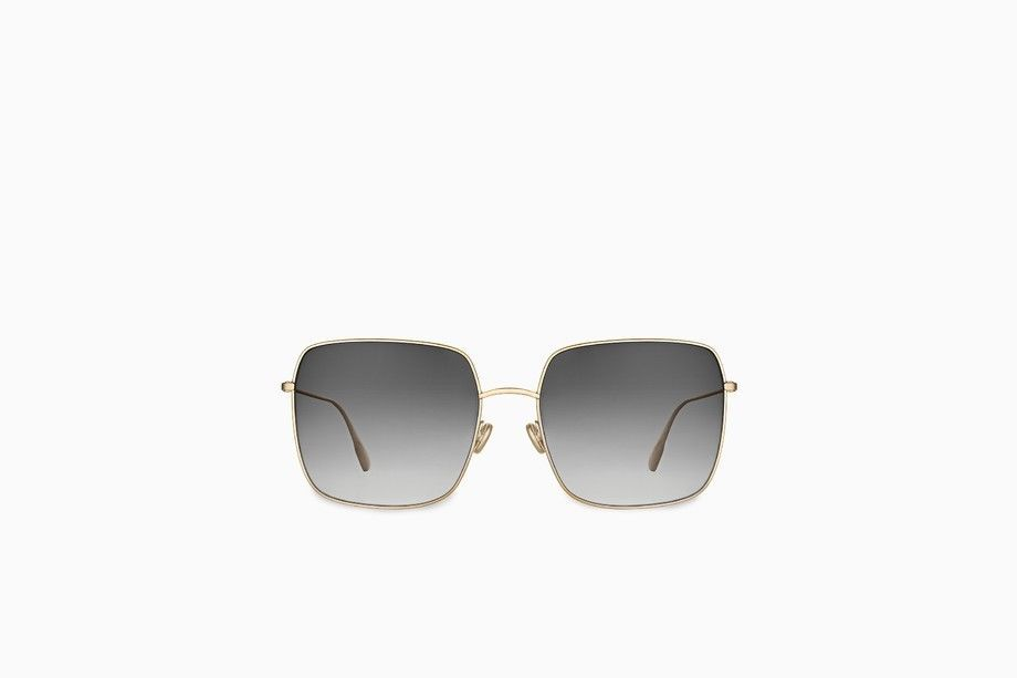 2a376ed2460a Authentic Dior Stellaire 1 59mm Square Sunglasses Gold  Grey  fashion   clothing  shoes  accessories  womensaccessories   sunglassessunglassesaccessories ...