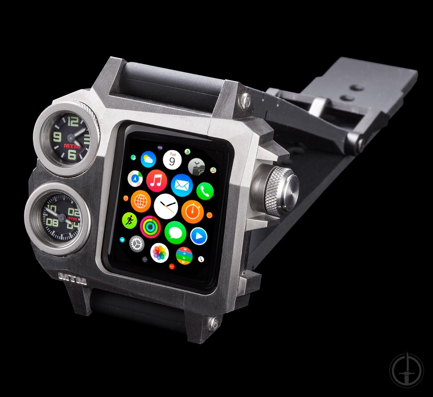 check out f45bf 31ed8 MTM Status A-38. A military grade Titanium case for the 38mm Series ...