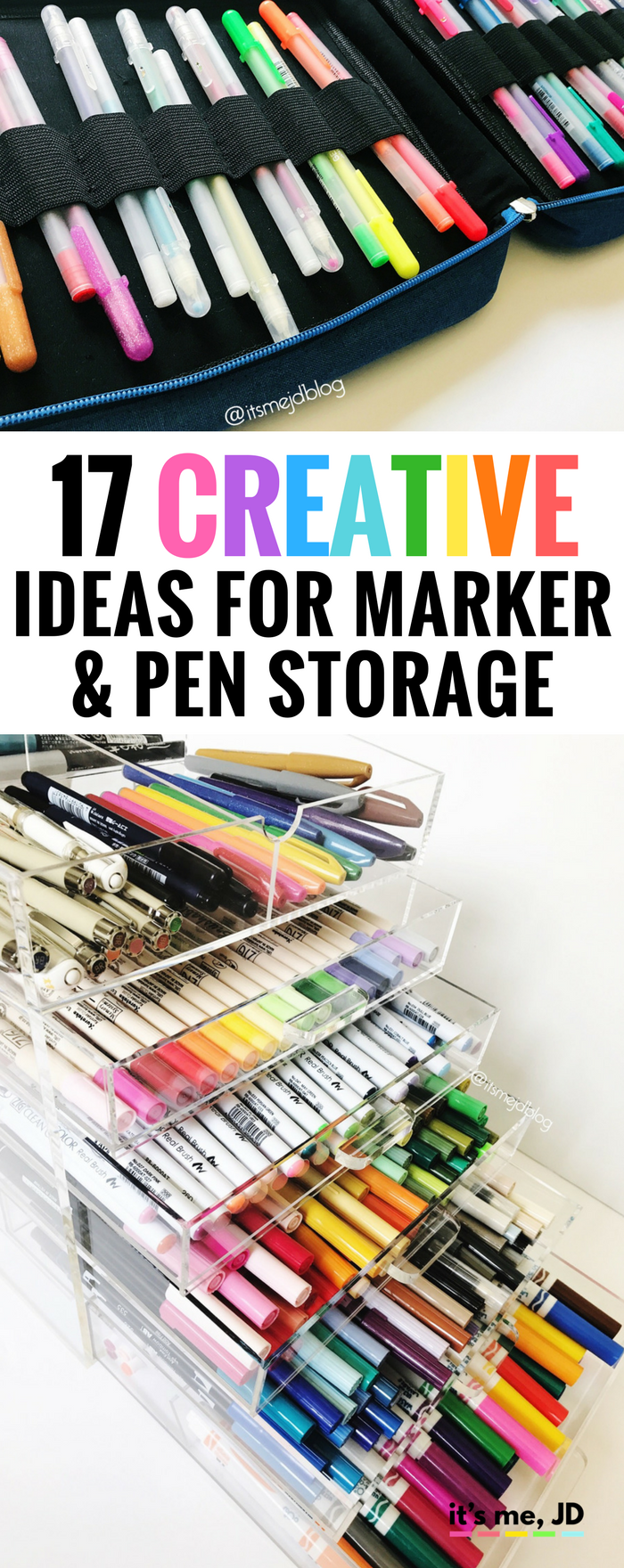 17 Creative Ideas For Marker And Pen Storage Pen Storage Diy
