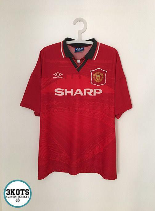 b4ed4ae0d MANCHESTER UNITED 1994 95 Home Football Shirt (XL) Soccer Jersey UMBRO  Vintage  UMBRO  Jerseys  Footballshirts  Soccerjerseys