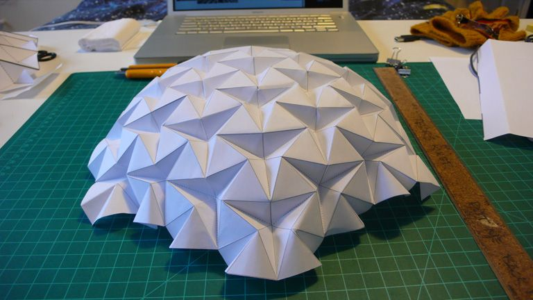 Paper geometry dome does anyone knows how to do it any blueprint paper geometry dome does anyone knows how to do it any blueprint malvernweather Images