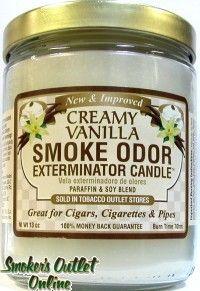 Smoke Odor Exterminator Creamy Vanilla Candles