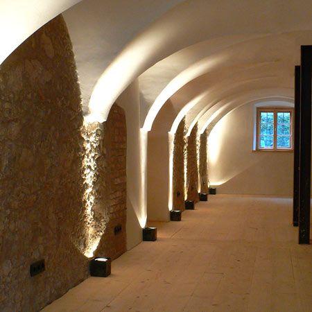 Hotel Berge Aschau berge by nils holger moormann germany veneer arch and corridor