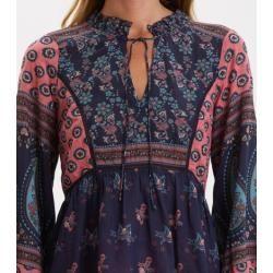 Print blouses for women