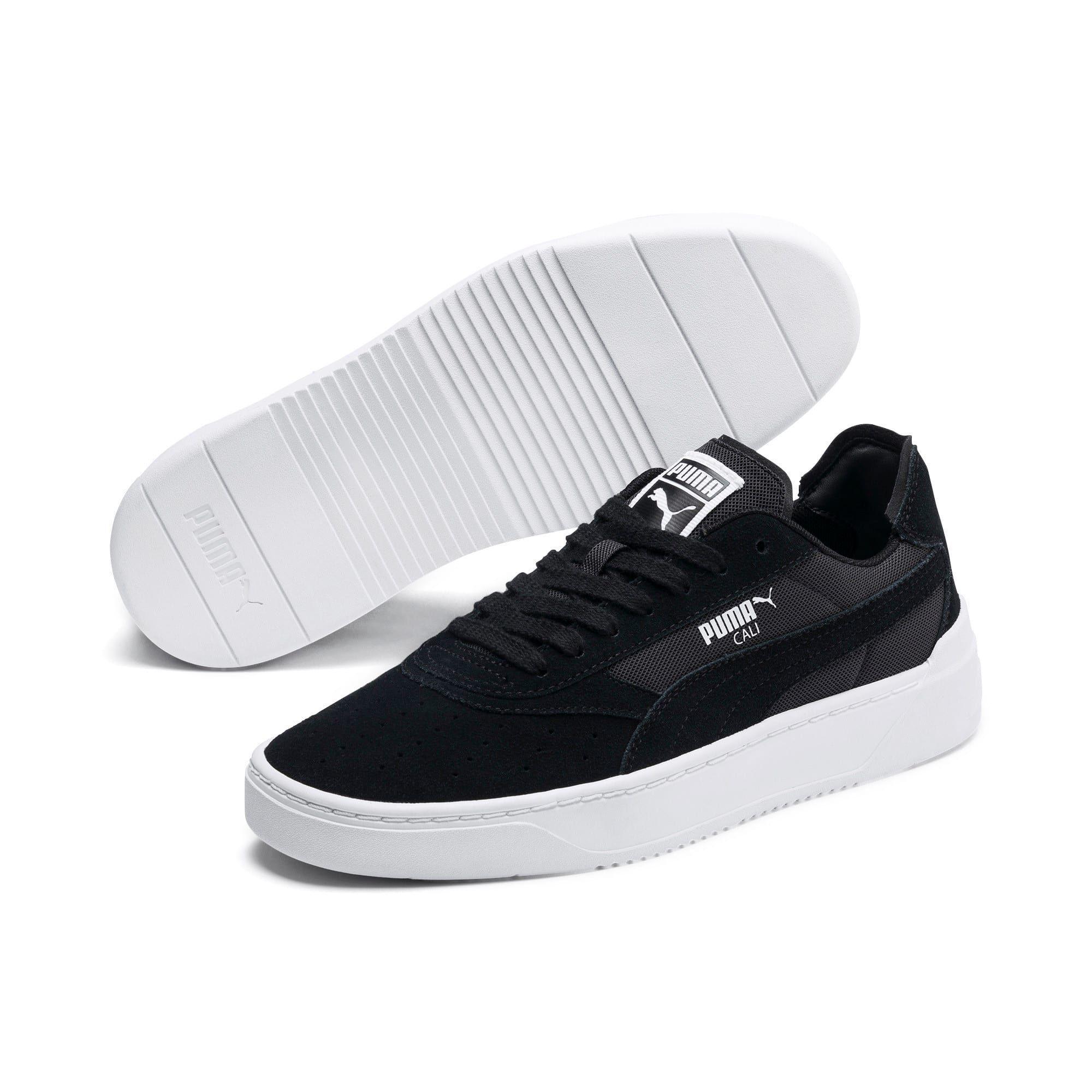 Baskets d'été PUMA Cali-0 pour homme en noir / blanc taille 10 ...