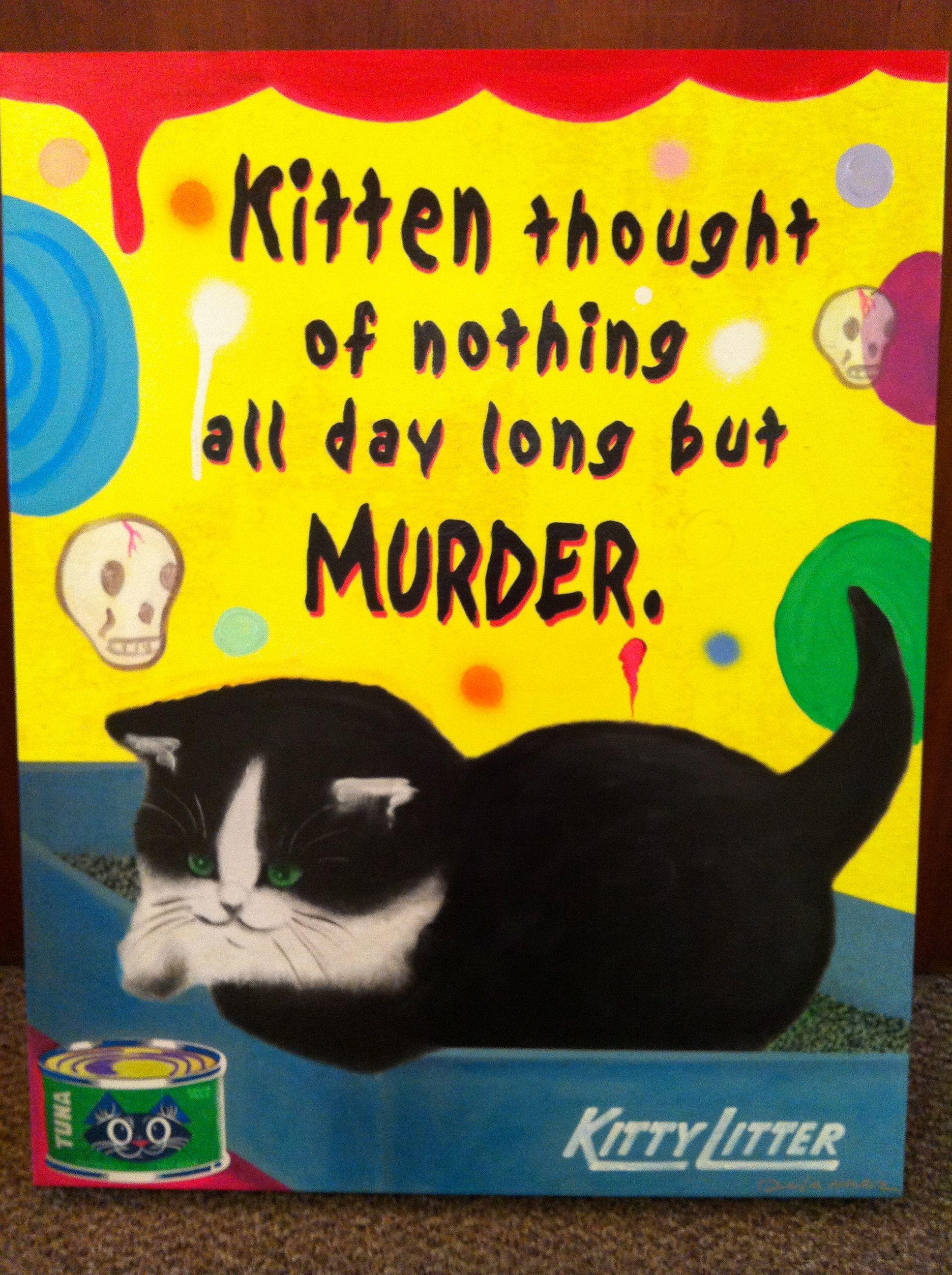 Bad Kitty Bad Cats Kitten Kitty