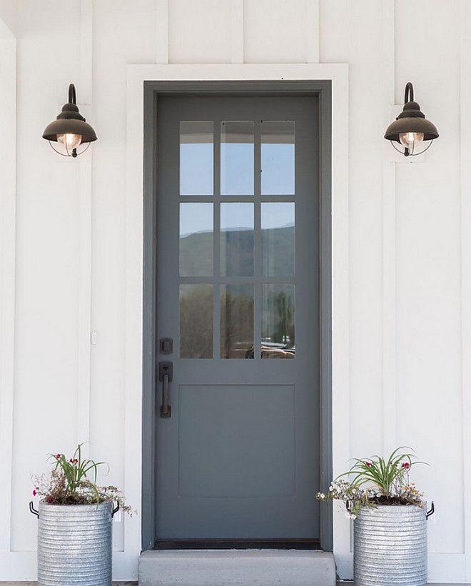 Farmhouse Style Front Porch Entry Voordeur Voor Het Huis Huis
