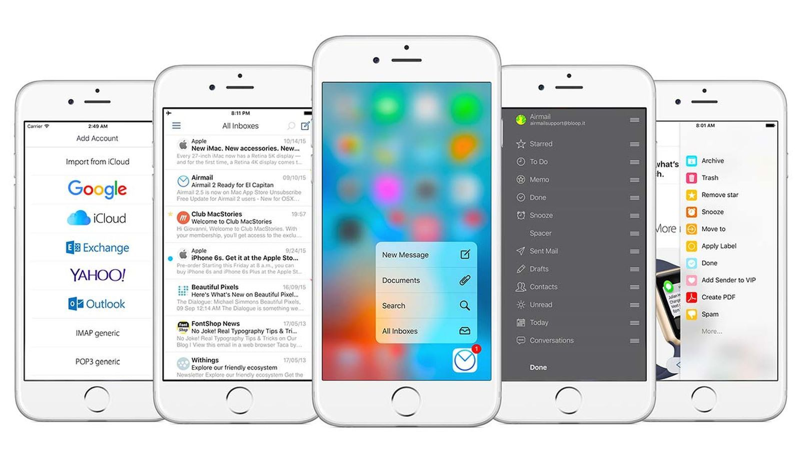 Airmail For Ios Is Here The Email App That Can Do Everything