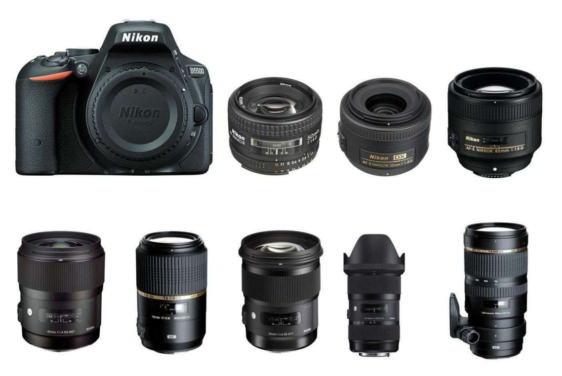 lenses for Nikon D5600