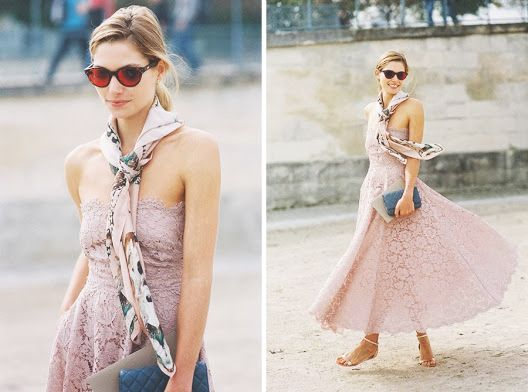 Style Musings | Street Style: Lace for Summer