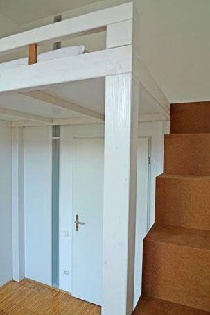 Hochbett Und Regal Treppe Loft Bed Creative Bedroom Bedroom Diy