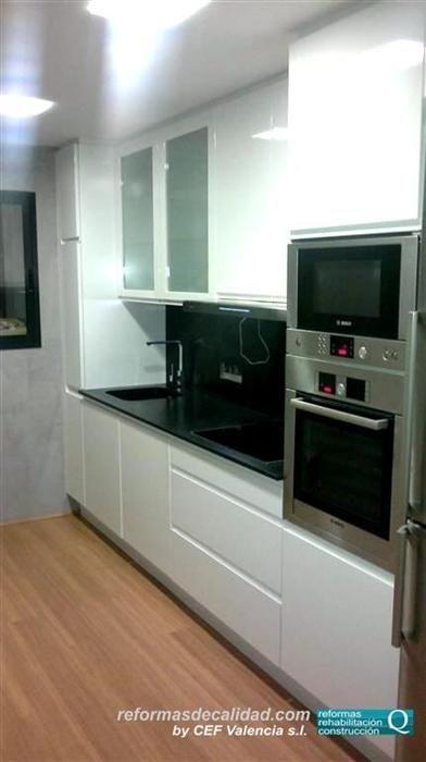 Reforma de cocina realizada por cefvalencia en la ciudad - Reformas de cocinas en valencia ...