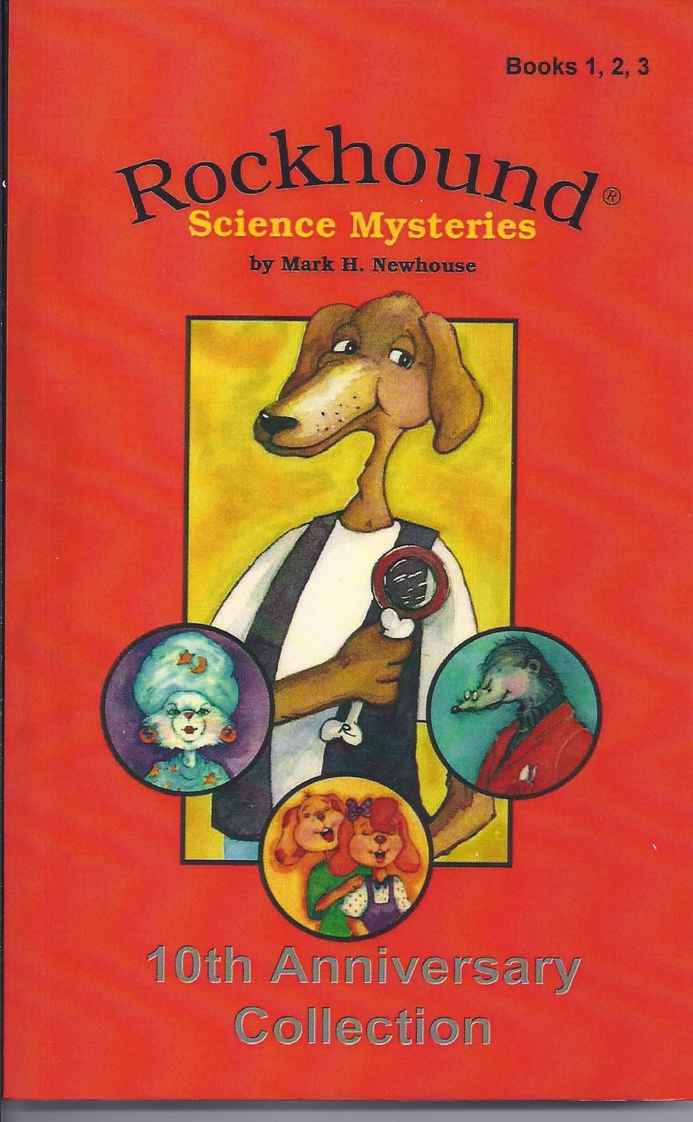 Catch crazy crooks by making orange juice ice pops and other fun experimentsTeachers' Choice Award- Learning Magazine. Nine mysteries. Amazon.com, Kindle, Nook