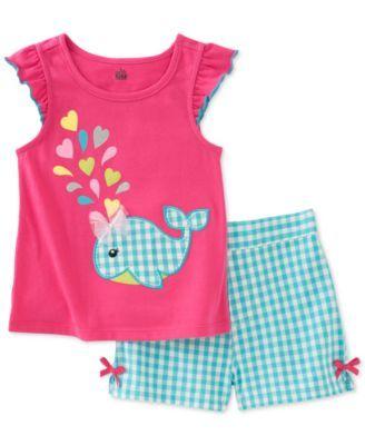 Kids Headquarters Girls Toddler 2 Pieces Shorts Set