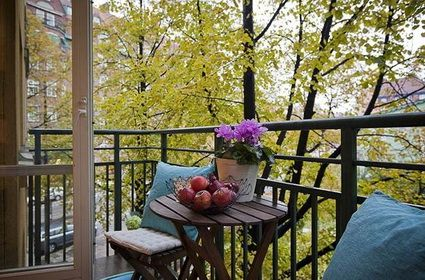Tips para decorar balcones pequeos con poco dinero Balcones