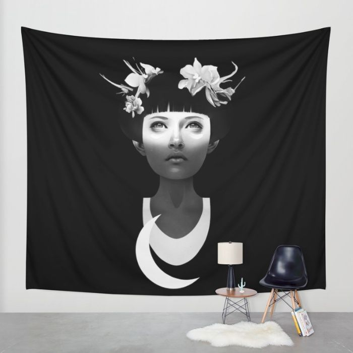 Hyperdusk Wall Tapestry by Ruben Ireland. Worldwide shipping available at Society6.com. Just one of millions of high quality products available.