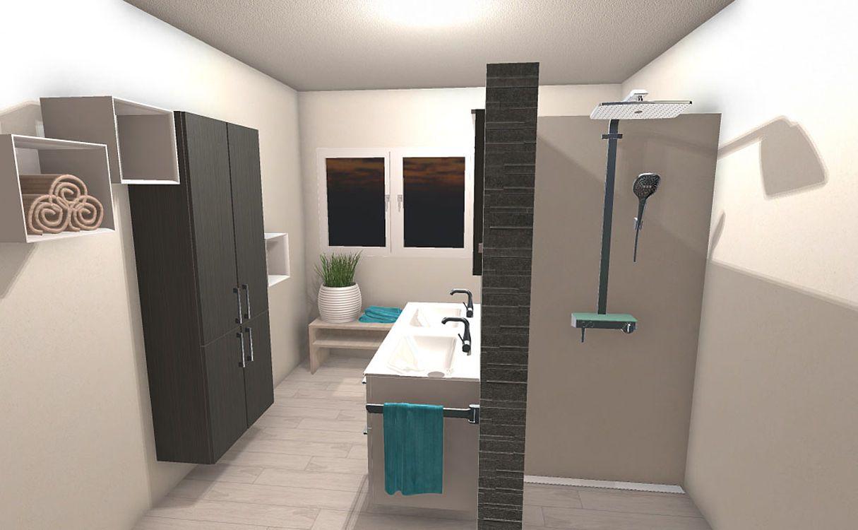 Frieling Das T Bad Mit Drei Zonen 11 Qm In 2020 Badezimmer Im
