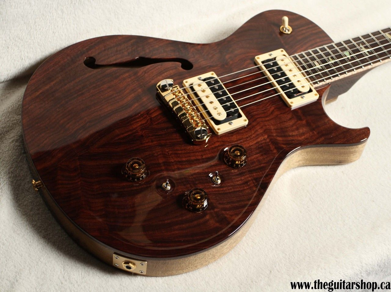 Prs Private Stock Ps6063 Singlecut Semi Hollow With Trick Wiring The Guitar Shop 905 274 5555