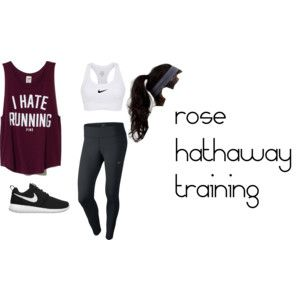 Rose Hathaway Vampire Academy style                                                                                                                                                      More