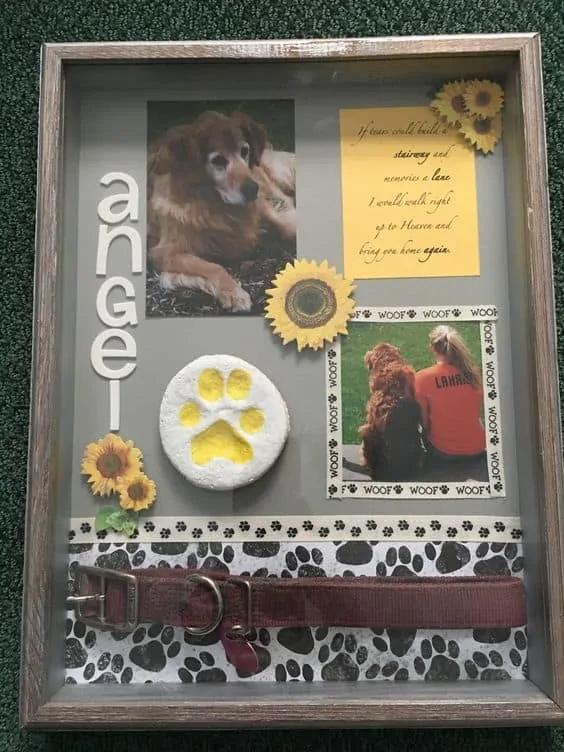 Dog Memorial Shadow Box : memorial, shadow, Brilliant, Shadow, Ideas, (Cool, Stuff, Only), Memorial, Dogs,, Keepsake