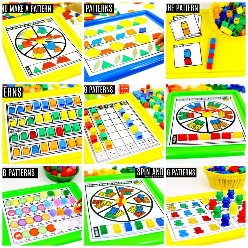 Preschool Math Patterns With Images