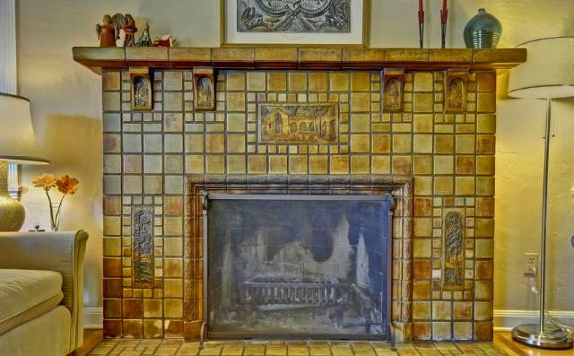 Batchelder Fireplace Spotted In Eagle Rock Fireplace Fireplace