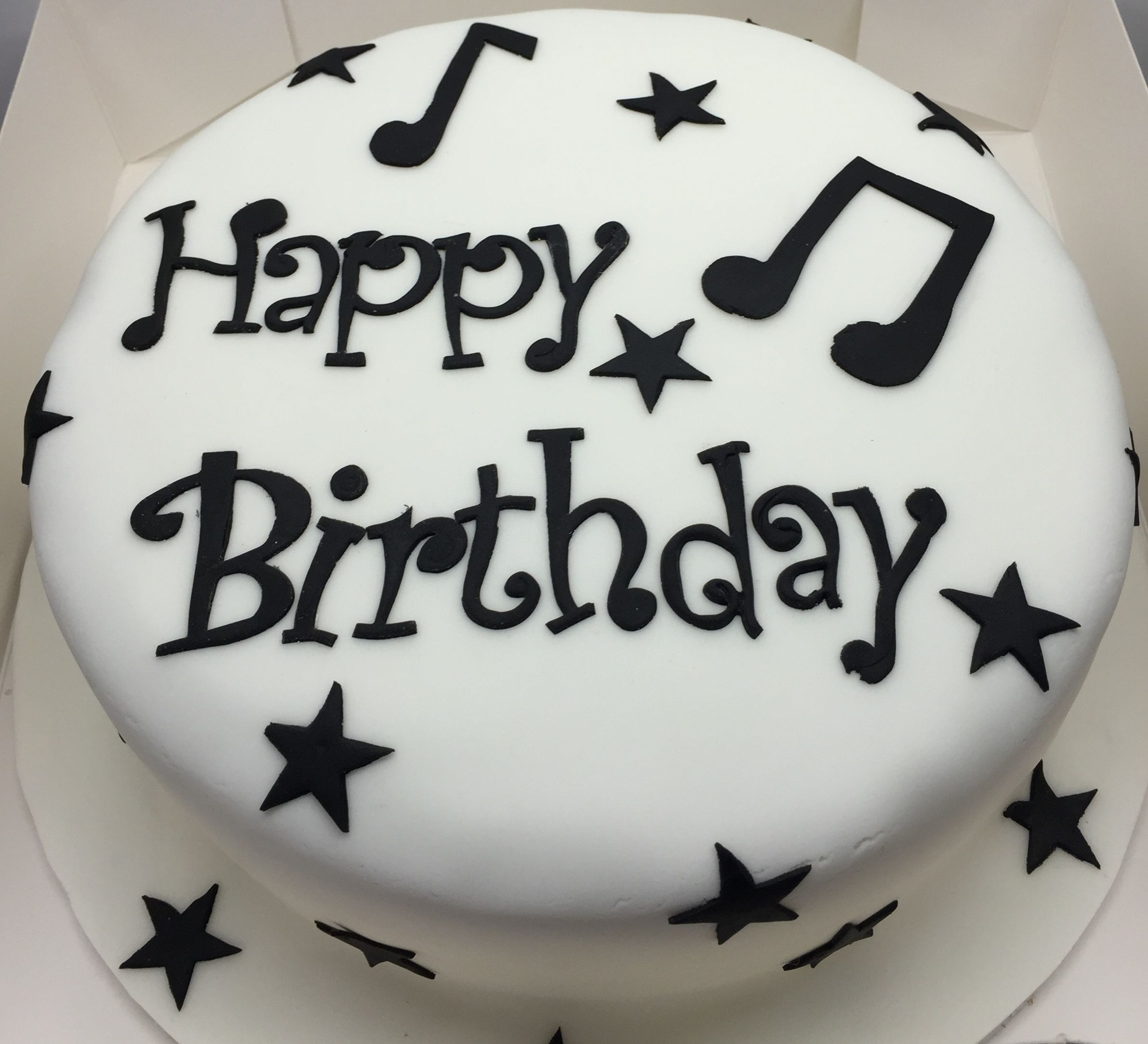 Music birthday cake Baking Pinterest Music birthday cakes