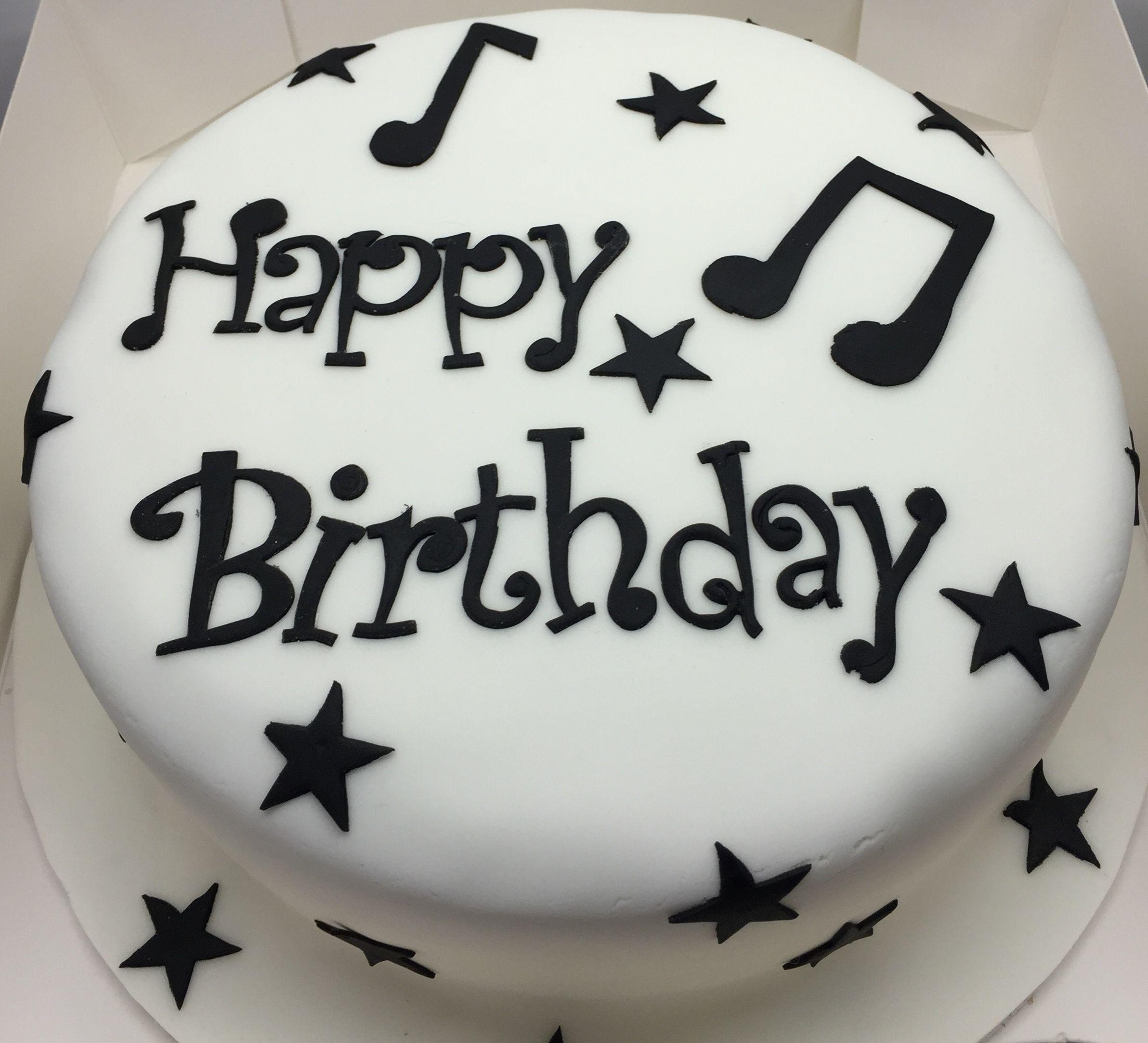 Enjoyable Music Birthday Cake Music Birthday Cakes Music Note Cake Music Birthday Cards Printable Benkemecafe Filternl
