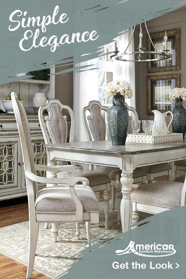 Magnolia Manor Rectangular Dining Table In 2019