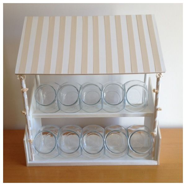 Ivory Wedding/Party Table Top Sweet Stall - Candy Cart alternative All Occasions