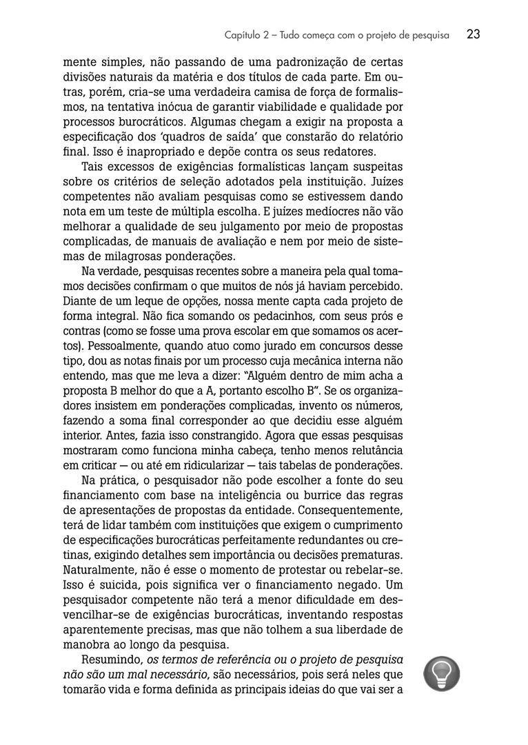 Página 23  Pressione a tecla A para ler o texto da página