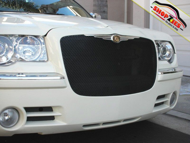 Chrysler 300 Mesh Grille Grill Upper Insert 1pc Black Grillcraft