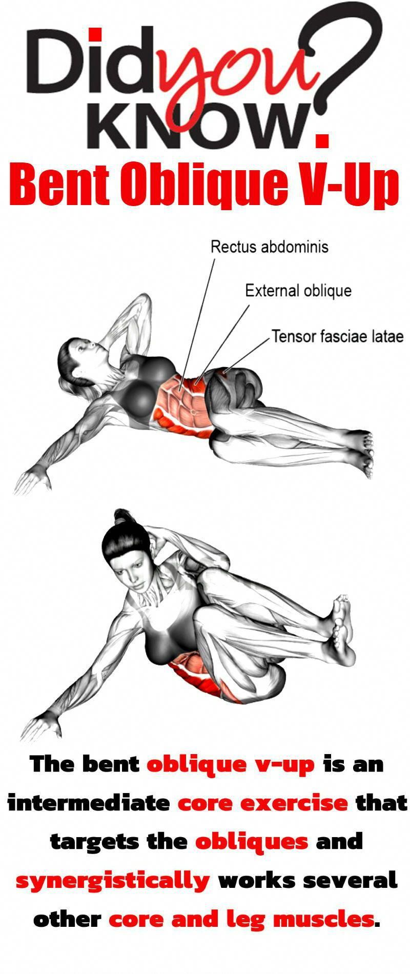 Oblique Workout With 10 Exercises for a Flat Stomach ...