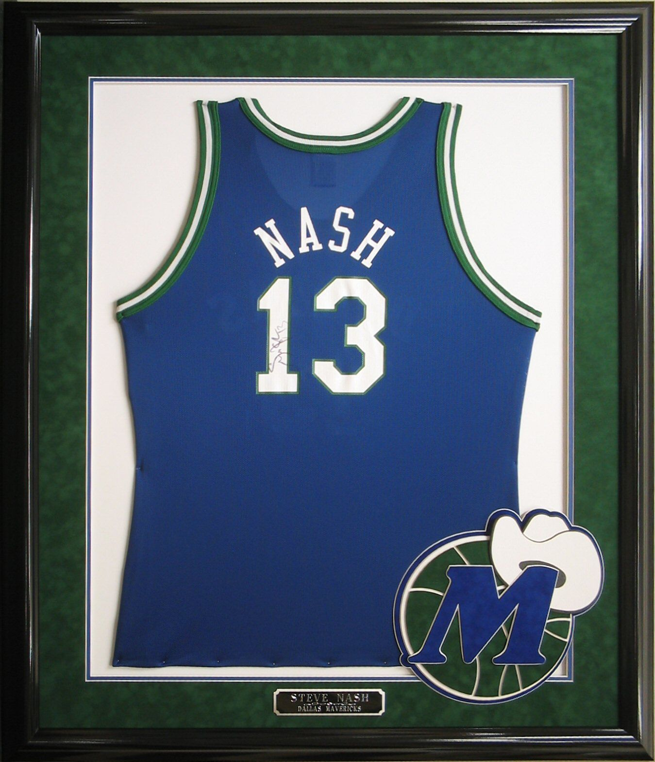 best sneakers ef65b f7958 Steve Nash signed throwback jersey framed #SteveNash ...
